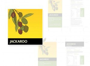 Jackaroo branding and packaging